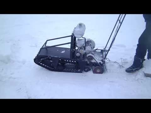 видео: самодельная мотособака