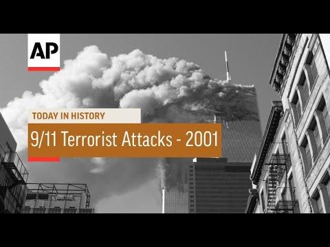 9/11 Terrorist Attacks - 2001 | Today in History | 11 Sept 16
