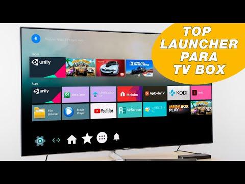Melhor Launcher Para TV Box - Cria Atalhos Para Apps Do ANDROID TV