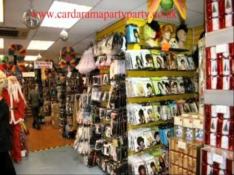 Cardarama Party Party, Watford and Lutons Premier Fancy Dress Shop