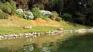 sbarco in canoa al lido del prete