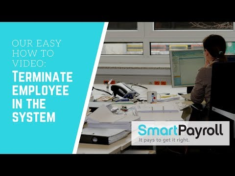 How to: Terminating an employee