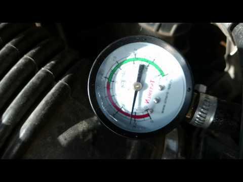 проверка регулятора топлива SR20DE