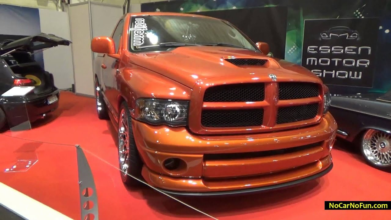 2005 dodge ram hemi 2 door regular cab limited daytona edition 2014 essen motor show youtube. Black Bedroom Furniture Sets. Home Design Ideas