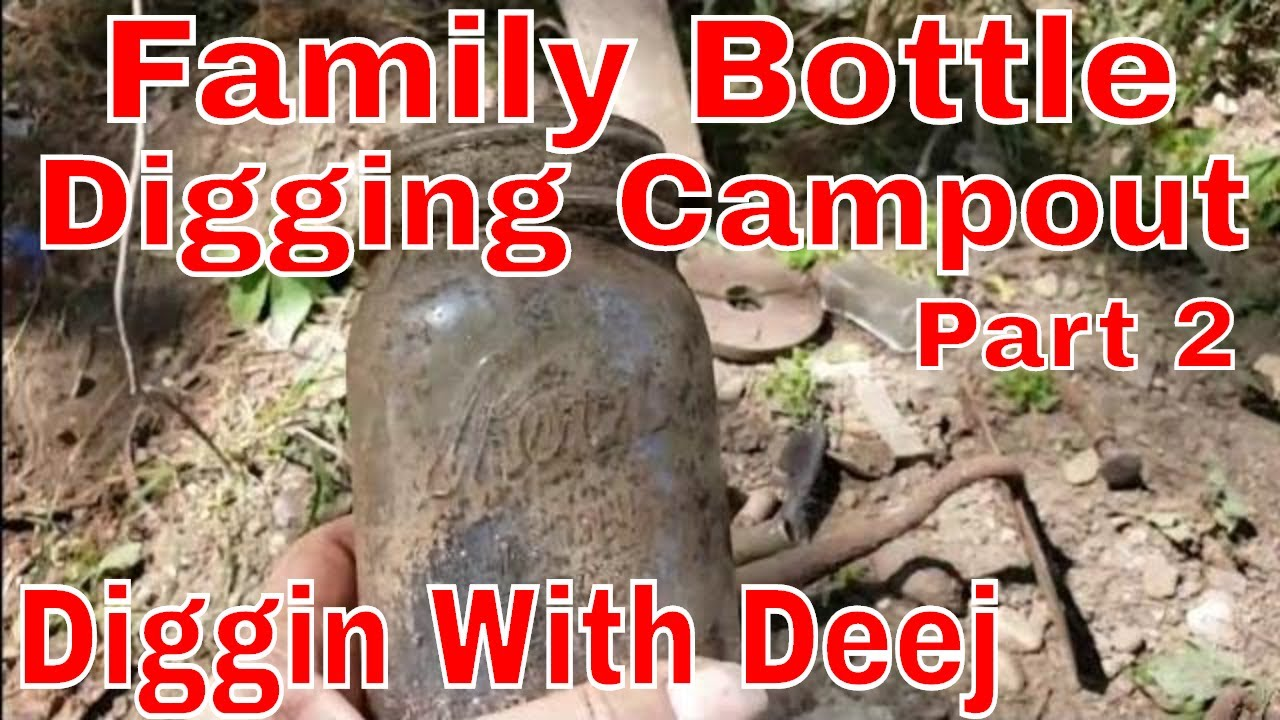 Solo Victorian Farm Bottle Dump Digging Labor Day Creek Side Bottle Dig Youtube