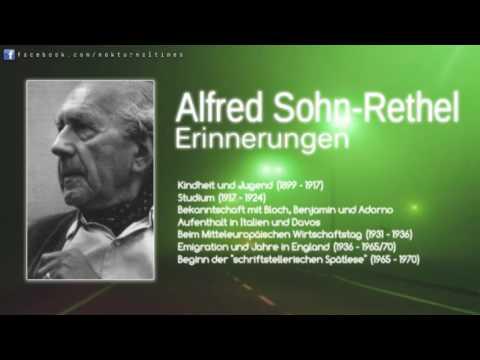 Alfred Sohn-Rethel: Erinnerungen