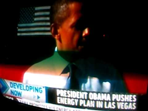 "President Obama In Las Vegas ""We are the Saudi Arabia of Nautural Gas"" Jan 26th, 2012"