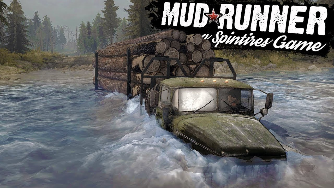 spintires mud runner gameplay 1 part 1 ps4 youtube. Black Bedroom Furniture Sets. Home Design Ideas