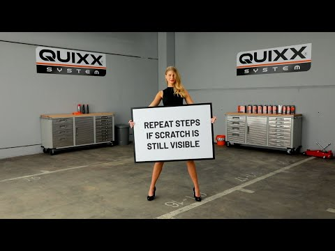 QUIXX – English Paint Scratch Remover – Our slogan Repair it. Yourself! is the program.