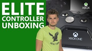 Xbox Elite Controller Unboxing | Xbox On(Buy your Elite Controller: http://bit.ly/ElitePreOrder. After unboxing the Elite Controller it's safe to say Benny is a big fan. Fully customisable, it's the ultimate piece ..., 2015-10-07T17:00:00.000Z)