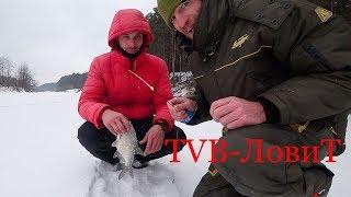 Зимняя рыбалка на крупного ЛЕЩА? Это фиа...