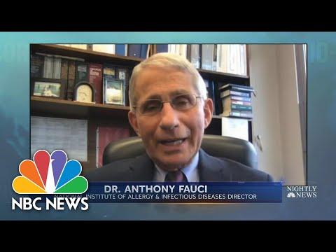Dr. Fauci Warns Flu Season May Accelerate Spread Of The Coronavirus | NBC Nightly News