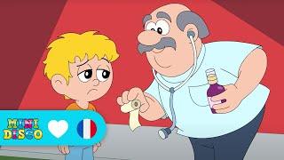 Malade | Chansons pour enfants | Les comptines | Chansons à danser par Minidisco