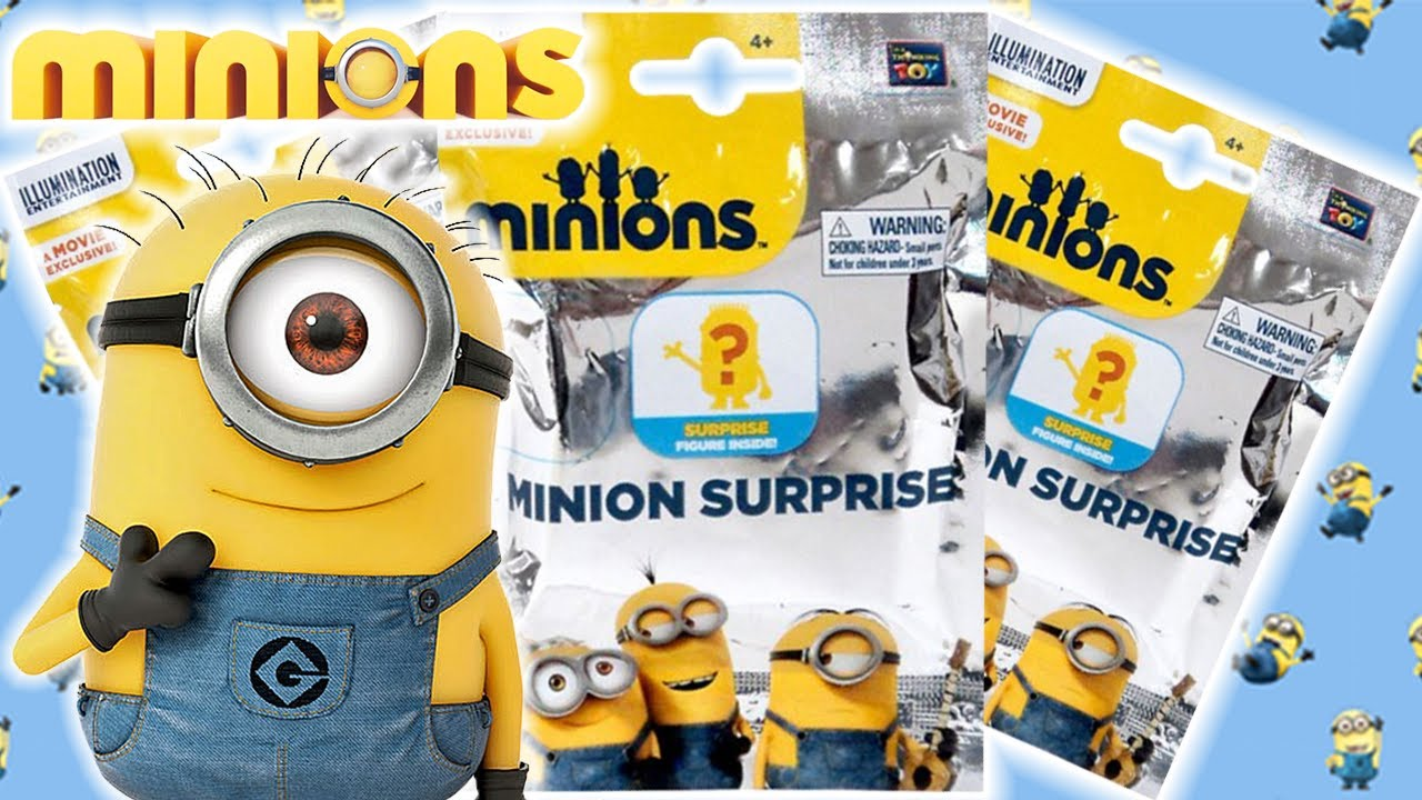 Toy Unboxing Despicable Me Minion Surprise Mystery Pack Opening