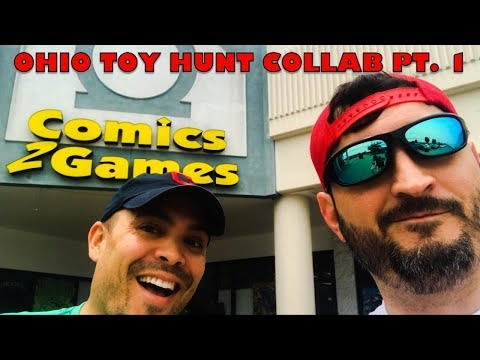 Toy Hunting in Ohio with Cincy Nerd, Josh Pence, Toy Bills & Slapshot Toys Pt. 1
