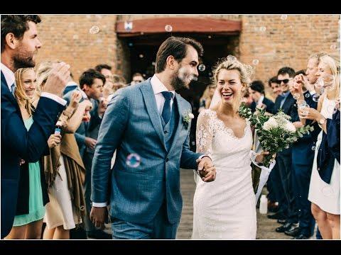 Bohemian Backyard Wedding after a Castle Ceremony in Amsterdam I Boho DIY Vintage Inspiration
