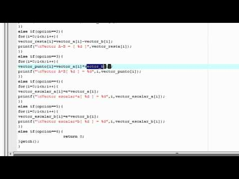 Operaciones de matrices en C - UPIITA de YouTube · Alta definición · Duración:  3 minutos 58 segundos  · 714 visualizaciones · cargado el 28.01.2016 · cargado por iMaker - Tutoriales