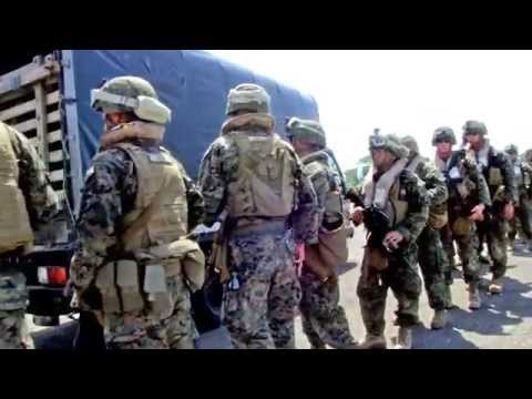 Marines Embark Cartagena, Colombia from USS America (LHA 6)