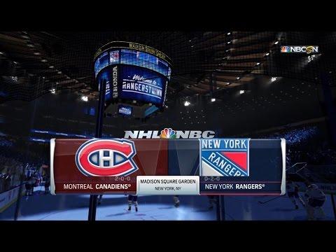 Ça sent la coupe! : Série Canadiens vs Rangers #3