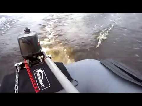 Лодка Hunter boat 300лт и мотор гольфстрим 2.6cbms