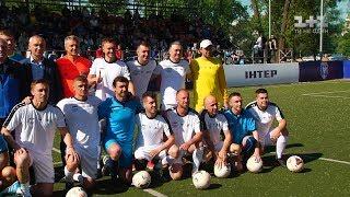 Шевченко, Ребров та Воронін зіграли разом у благодійному матчі Легенди футболу