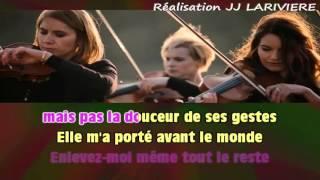 KENDJI GIRAC   LES YEUX DE LA MAMA I G JJ Karaoké - Parole
