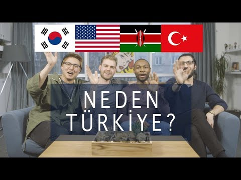 3 YABANCI NEDEN TÜRKİYE'Yİ SEÇTİ? | 3 Yabancı 1 Urfalı