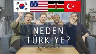 3 YABANCI NEDEN TÜRKİYE Yİ SEÇTİ 3 Yabancı 1 Türk 4