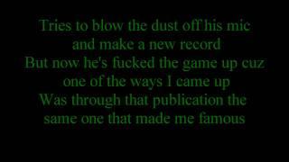 Repeat youtube video Eminem - Like toy soldiers - Lyrics - HD