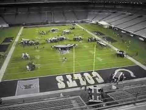 Superbowl XLI Halftime Stage Setup