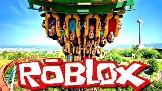😱THE PARC OF FOU ATTRACTION! roblox en