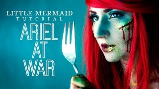 The Little Mermaid Tutorial: Ariel at War | NYX Face Awards Entry 2016