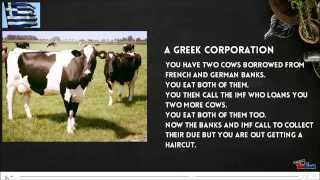 World Economy Explained with Two Cows | The Two Cow Theory | World Economics