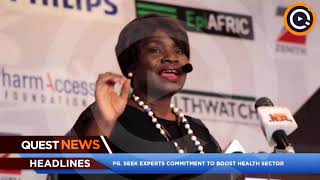 FG seeks experts' commitment to boost health sector