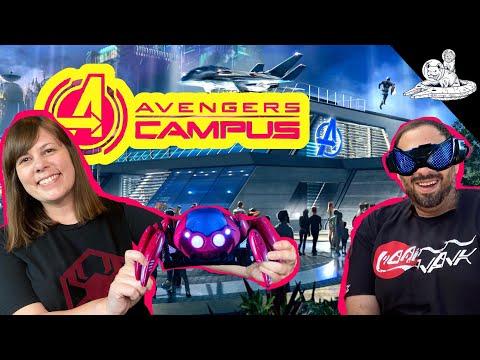 AVENGERS CAMPUS Virtual Tour