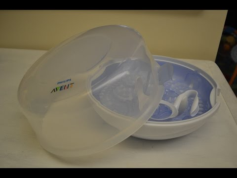How To Load Your Avent Microwave Steam Steriliser Phi