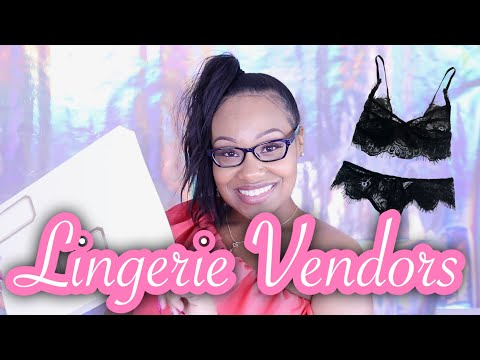 HOW TO LAUNCH AN INTIMATES LINE UNDER $50 + VENDORS AND PACKAGING