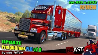"[""ATS"", ""American Truck Simulator"", ""Freightliner FLD v2.0"", ""by odd_fellow"", ""Harven"", ""ETS2"", ""Euro Truck Simulator 2""]"