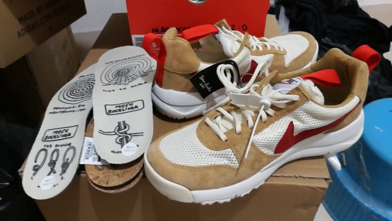 2d36d638315d New Tom Sachs Nike Craft Mars Yard shoe 2.0 NASA Nikelab Nikecraft from  china