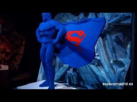 Exposición THE ART OF THE BRICK: DC SUPER HEROES en Madrid