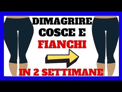 Come DIMAGRIRE COSCE E FIANCHI In 2 Settimane