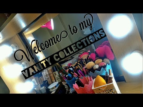 How I Started Collecting Cosmetics + Vanity Area TOUR!! | Ta