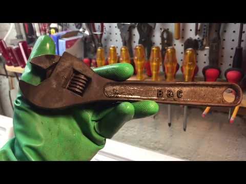 B&C Adjustable Wrench Restoration