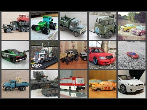 Что можно слепить из пластилина 3. Модели подписчиков группы Plast and Cars