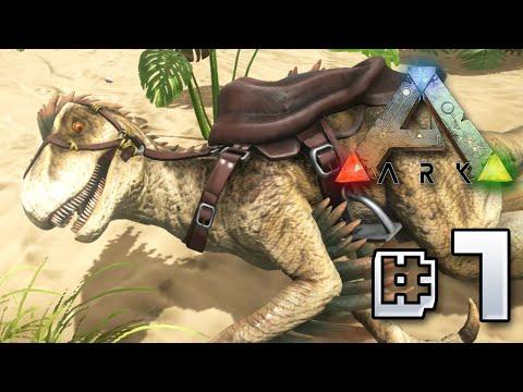 Taming a Raptor - Ark Survival Evolved || Ep 7
