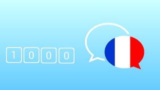 1000 câu tiếng Pháp giao tiếp hằng ngày thông dụng nhất - Learn French Phrase - French Conversation