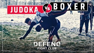 JUDOKA vs BOXER | MMA-Streetfight | DEFEND