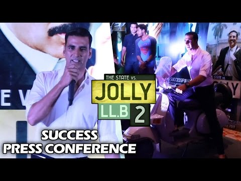 Jolly LLB 2 Success Press Meet   Full HD Video   Akshay Kumar, Subhash Kapoor