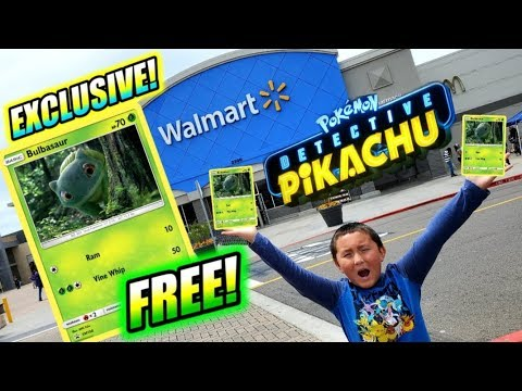 FREE POKEMON CARDS AT WALMART!