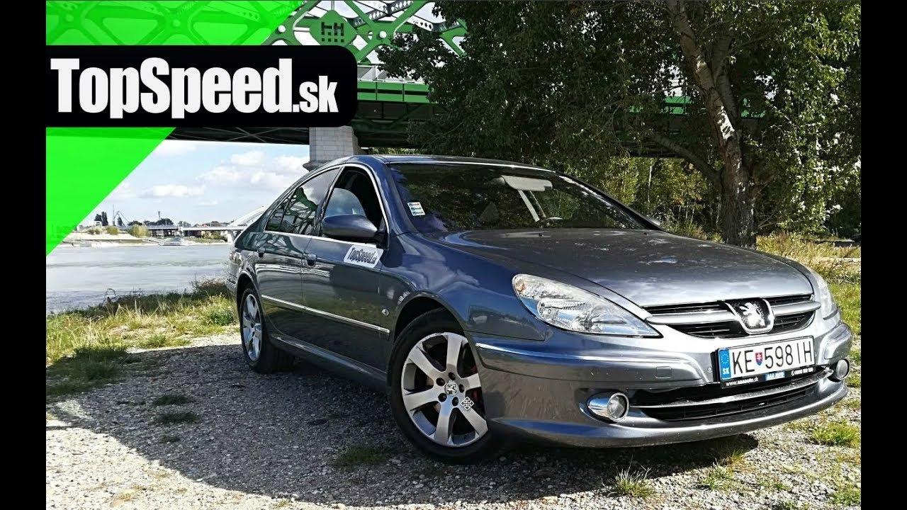 Jazdenka Peugeot 607 (2000 - 2010) - TopSd.sk - YouTube